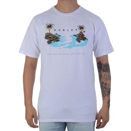 camiseta-hurley-flamingos-branca