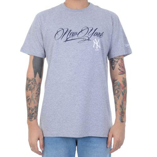 camiseta-new-era-new-york-essentials-mescla
