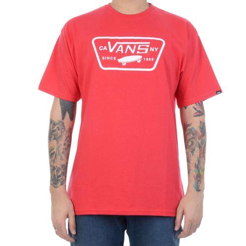 camiseta-vans-full-patch-vermelha