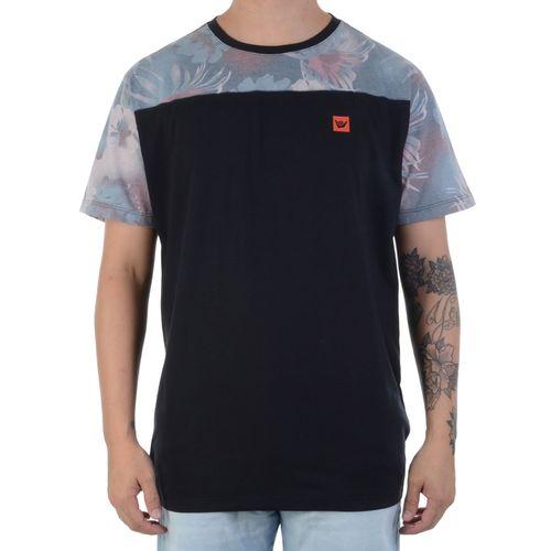 camiseta-hang-loose-leaves-preta