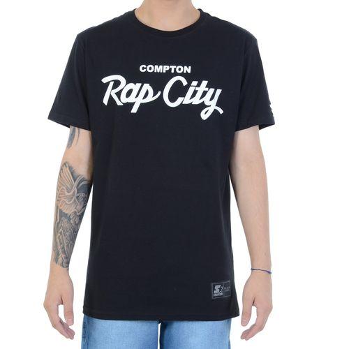 camiseta-starter-black-label-rap-city-preta