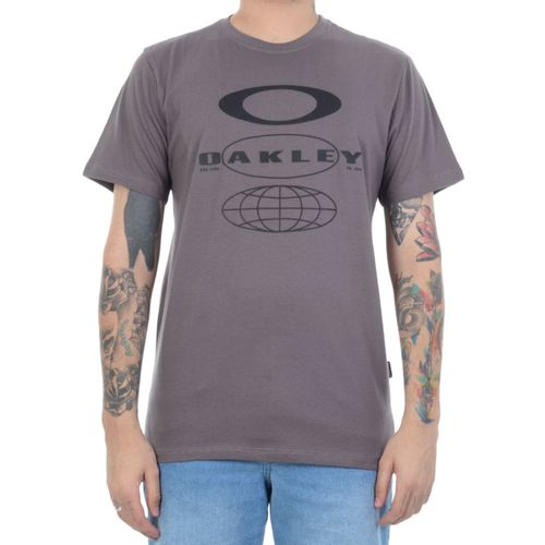 Camiseta-Oakley-Moom-Mist-Chumbo