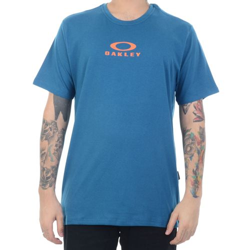 Camiseta-Oakley-Bark-New-Azul-