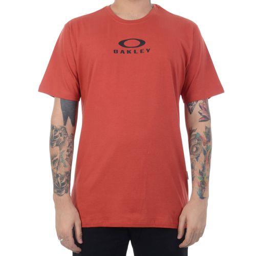 Camiseta-Oakley-Bark-New-Vermelha