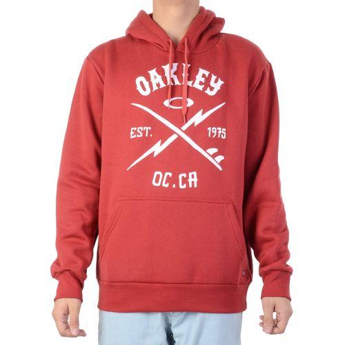 Moletom-Oakley-Surf-Bol-Pullover-Vermelho