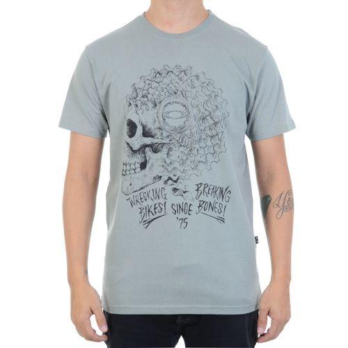 Camiseta-Oakley-Ratchet-Skull-Tee-Cinza