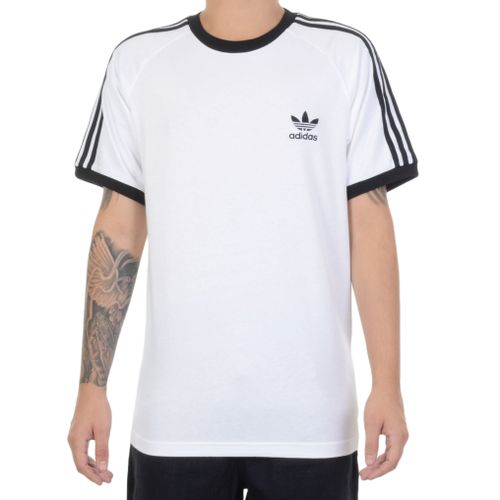 Camiseta-Adidas-3-stripes-Branca