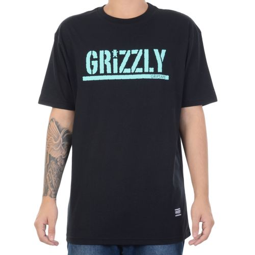 Camiseta-Grizzly-Manga-Curta-