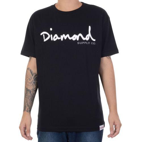 Camiseta-Diamond-manga-curta-basica