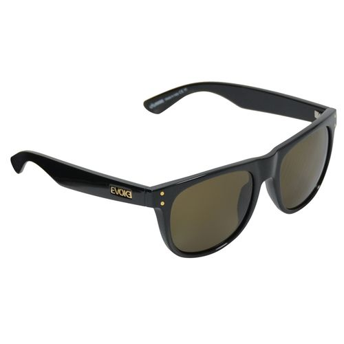 Oculos-Evoke-On-The-Rocks-Preto-Brilho-Dourado