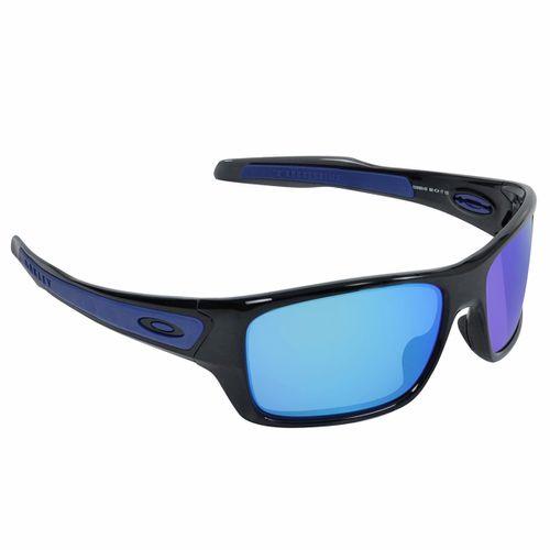 Oculos-Oakley-Turbine-Black-ink-Sapphire-Iridium---UNICA