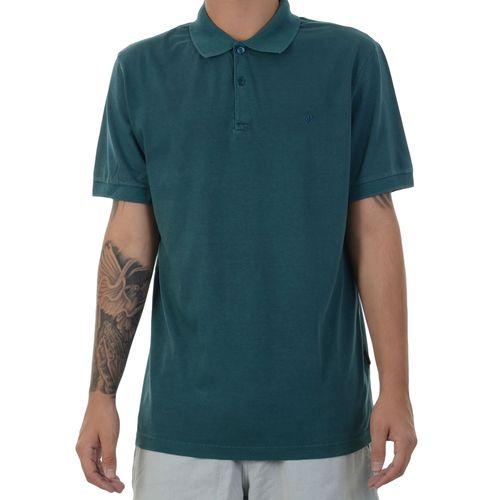 Camiseta-Polo-Volcom-Solid-Stone-