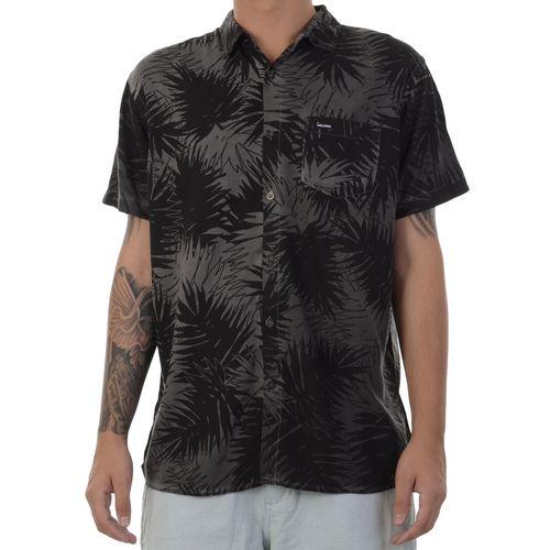 Camisa-Volcom-Leaf-Stone-Preta