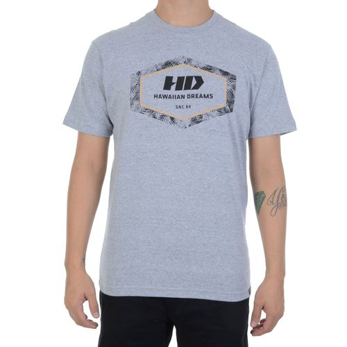 Camiseta-HD-Leaves-Hexagon-