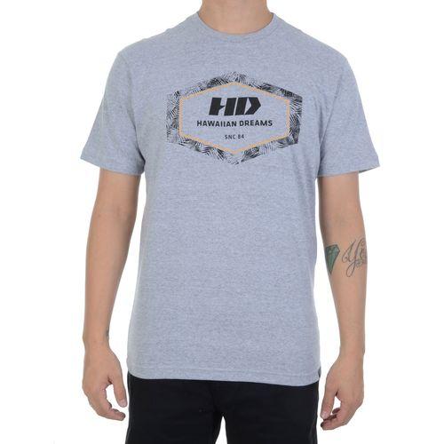 Camiseta-HD-Leaves-Hexagon