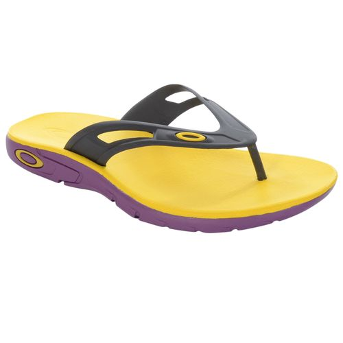 Chinelo-Oakley-Rest-Amarelo-e-Roxo