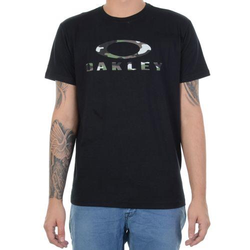 Camiseta-Oakley-O-Bark-Ss-Tee-Preta