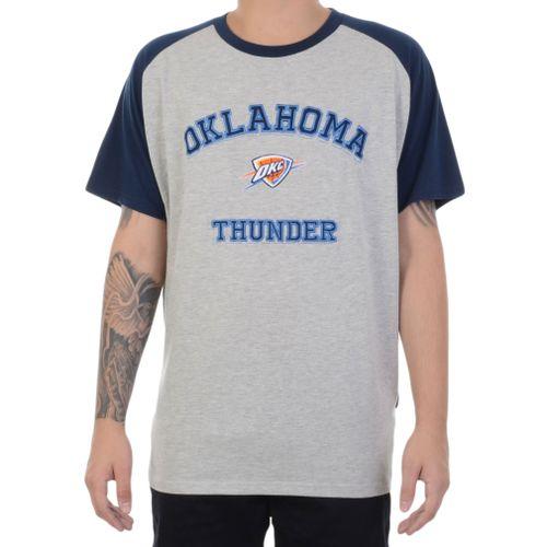 Camiseta-NBA-Oklahoma-City-Thunder-Cinza-Mescla-e-Azul-