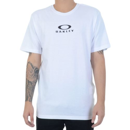 Camiseta-Oakley-Bark-New-Tee-Branca-