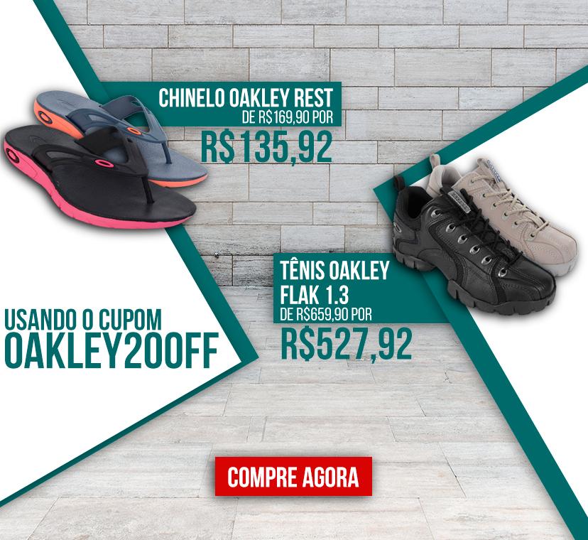 Oakley cupom