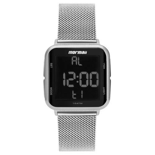 Relógio-Mormaii-Silver-Digital