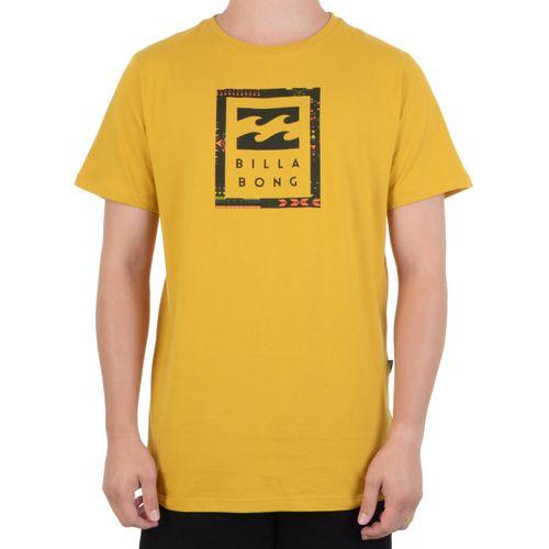 Camiseta-Billabong-United-Stacked---AMARELO