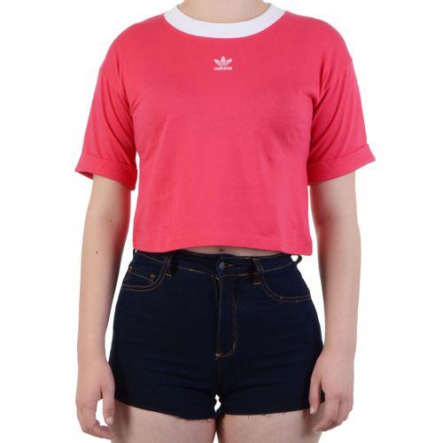 Blusa-Adidas-Baby-Look-Crop-Top-Rosa