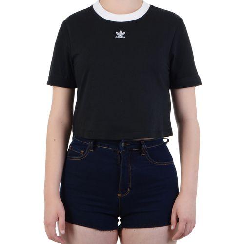 Blusa-Adidas-Baby-Look-Crop-Top-Preto