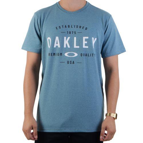 Camiseta-Oakley-Premium-Quality-Solar-Blue---AZUL