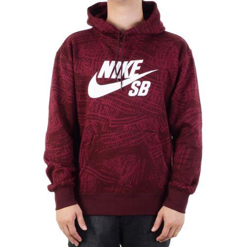Moletom-Nike-SB-Estampado-Vinho