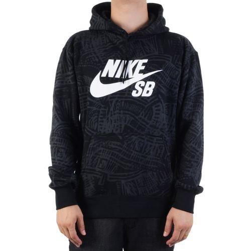 Moletom-Nike-SB-Estampado-Preto
