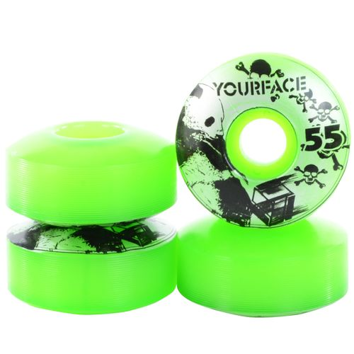 Roda-Your-Face-55mm-Verde