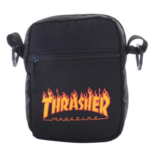Shoulder-Bag-Thrasher-Logo-Flame---PRETO