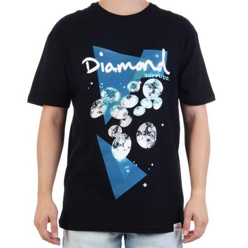 Camiseta-Diamond-Galatic-Tee---PRETO
