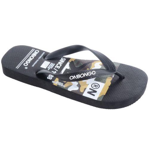 Chinelo-Onbongo-Camuflado---PRETO