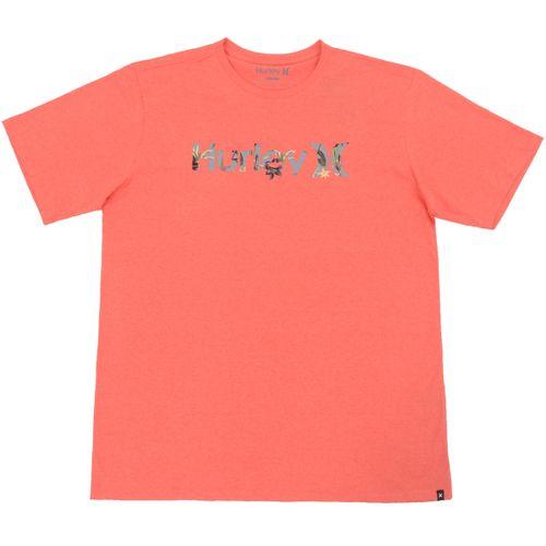 Camiseta-Hurley-Logo-Flowers-Big---VERMELHO