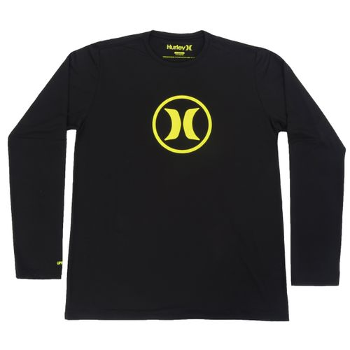 Camiseta-Lycra-Surf-Tee-Circle---PRETO