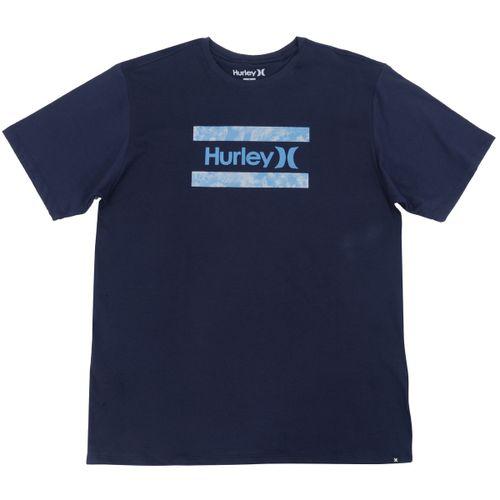 Camiseta-Hurley-Logo-Silk-Folhas-Big---MARINHO