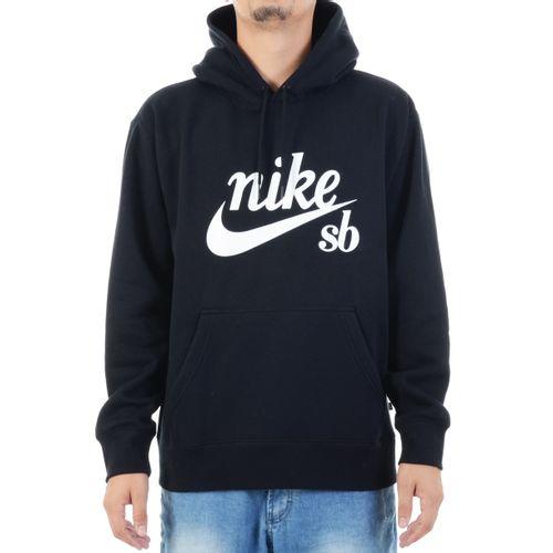 Moletom-Nike-SB-Preto-e-Branco---PRETO