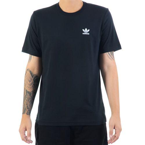 Camiseta-Adidas-Essentials-Preto-e-Branco