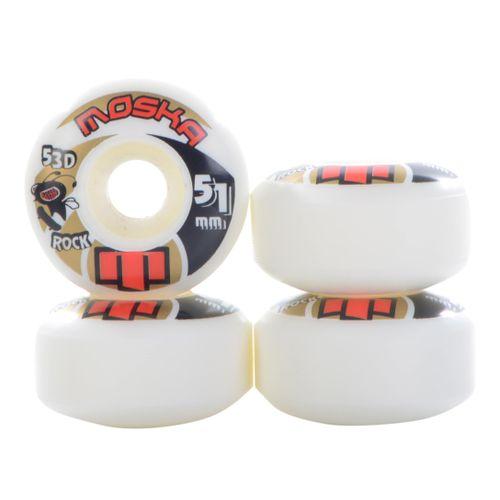 Roda-Moska-Rock-51mm-Branca