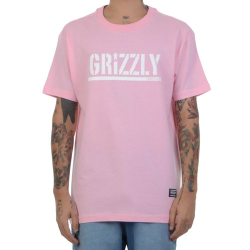 Camiseta-Grizzly-Stamp-Tee-rosa