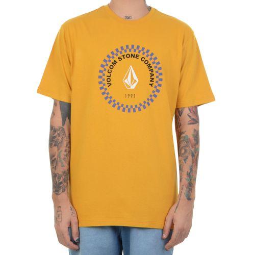 Camiseta-Volcom-Fused-amarelo