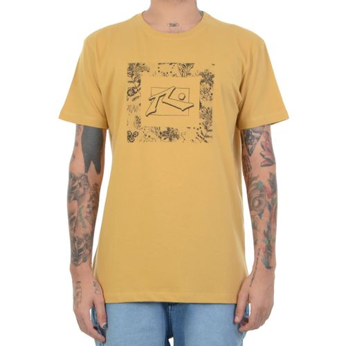 Camiseta-Rusty-Spray-Bloom-amarelo