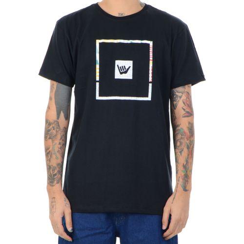 Camiseta-Hang-Loose-Psytribo-preto