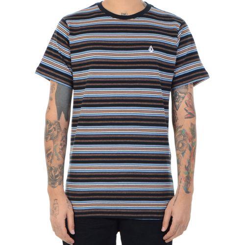 Camiseta-Volcom-Moorly-preto