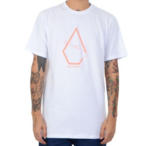 Camiseta-Volcom-Pin-Stone-branca