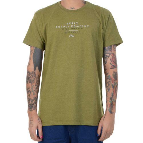 Camiseta-Rusty-Short-Cut-verde-escuro