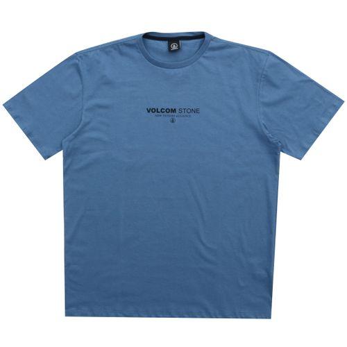 Camiseta-Volcom-Clock-Worker-Big-azul
