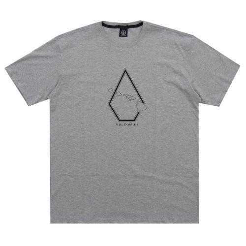 Camiseta-Volcom-Pin-Stone-Big-cinza